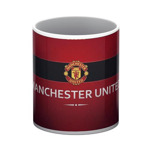 Manchester United White Mug