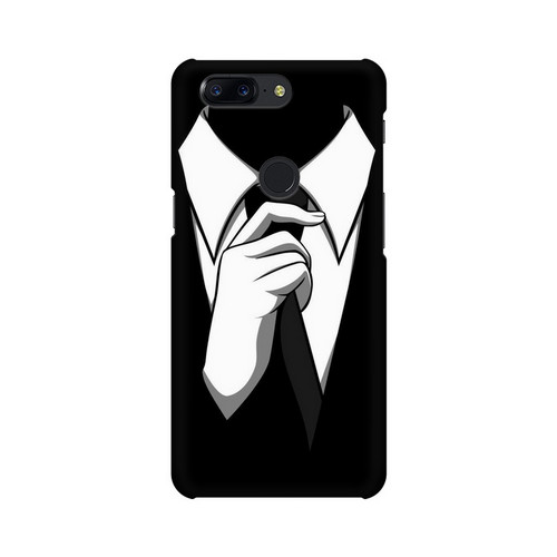 Anonymous Tie One Plus 5T Mobile Cover Case