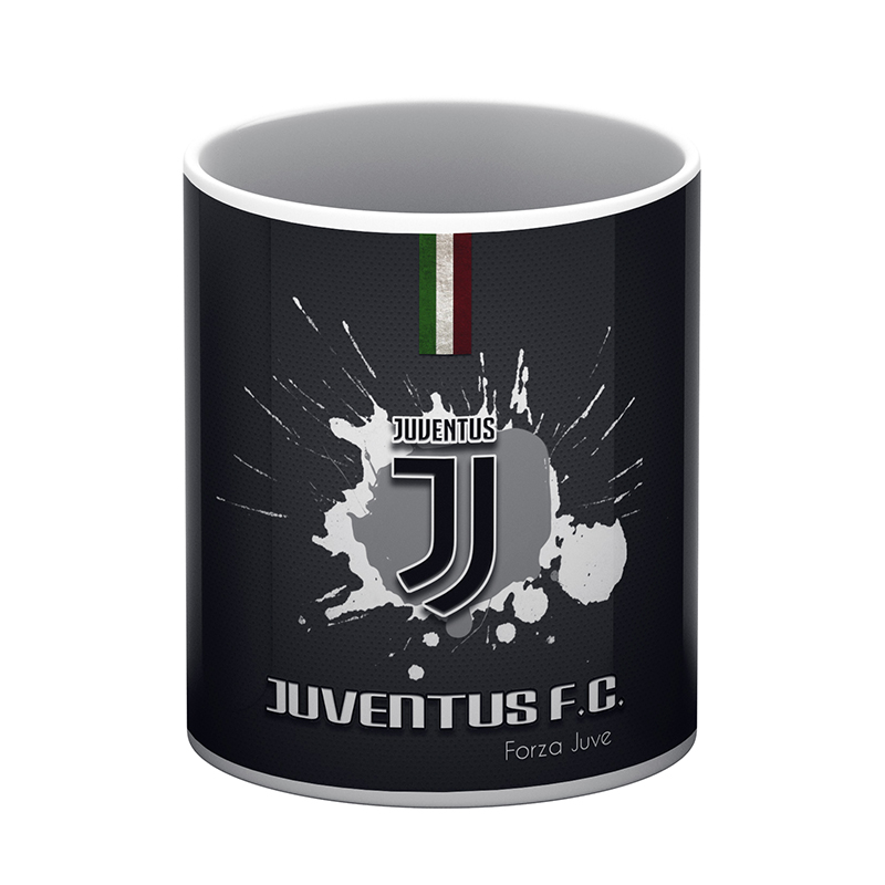 Juventus White Coffee Mug