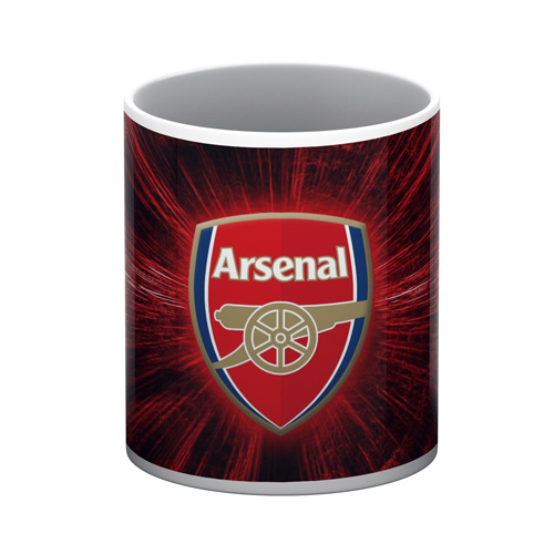Arsenal White Mug