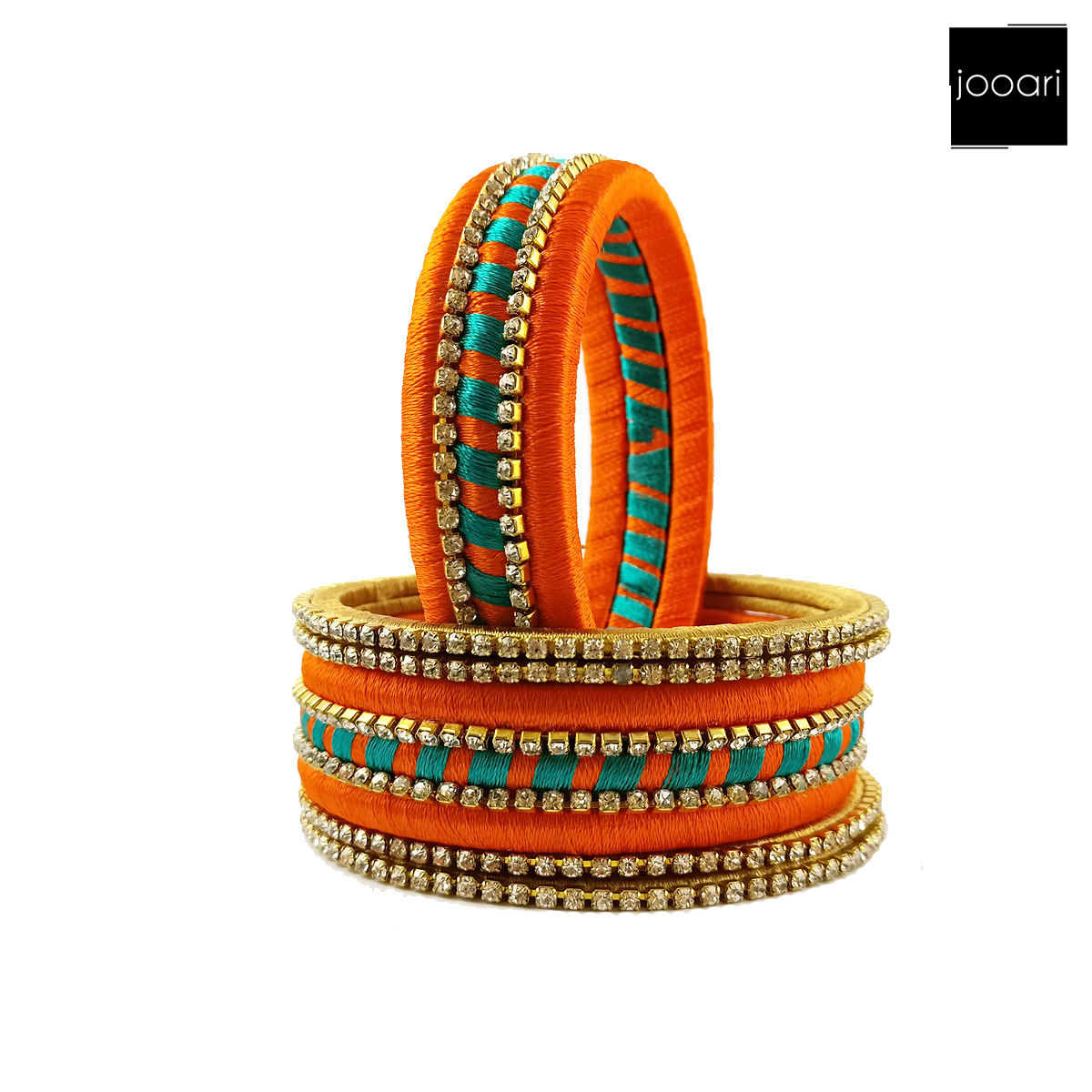 Silk Threaded Traditional Wedding/Occasional Bridal Bangles for Women