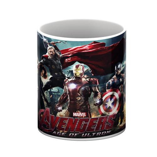 Avengers White Mug