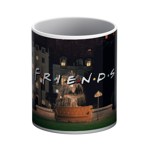 Friends White Mug