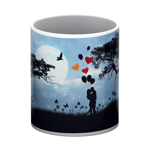 Love Romance White Mug