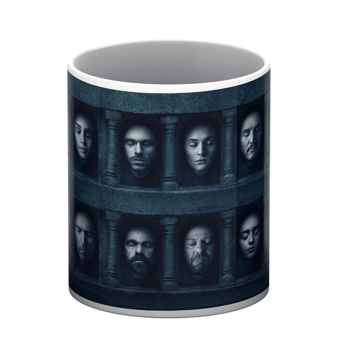 Game of Thrones White Mug