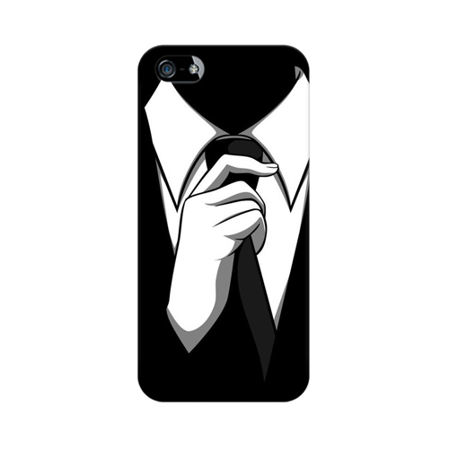 Anonymous Tie Apple iPhone 5 Mobile Cover Case