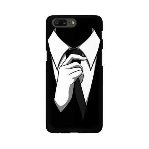 Anonymous Tie One Plus 5 Mobile Cover Case