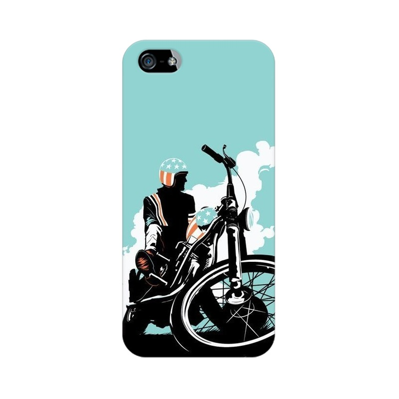 American Biker Apple iPhone 5 Mobile Cover Case