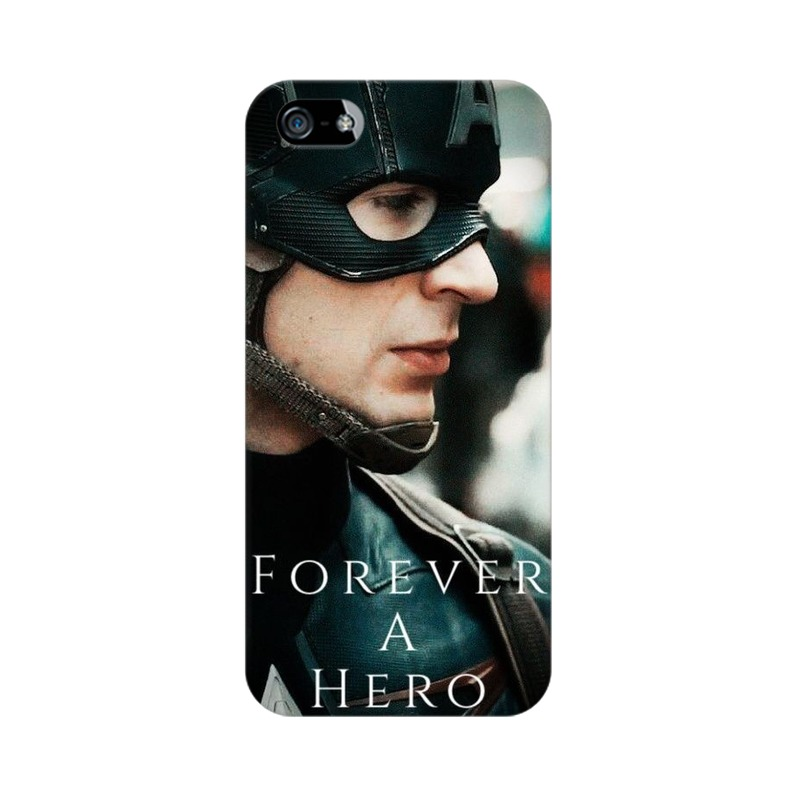 A True Hero Captain America Apple iPhone 5 Mobile Cover Case