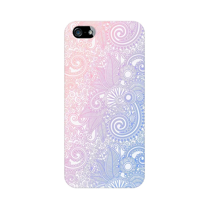 Beautiful rangoli Apple iPhone 5 Mobile Cover Case