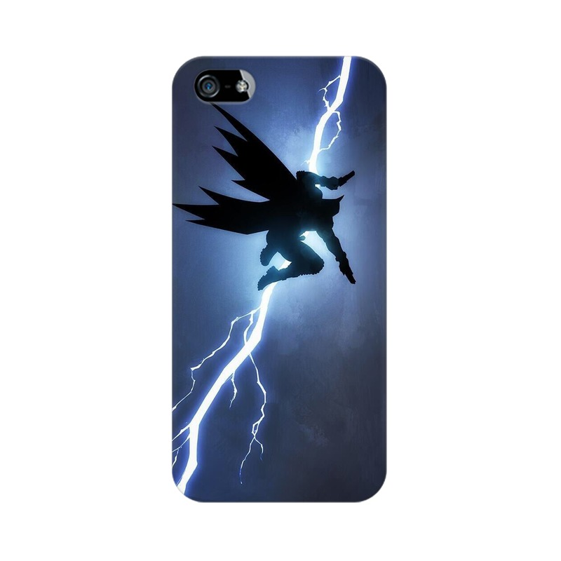 Batman Thunder Apple iPhone 5 Mobile Cover Case