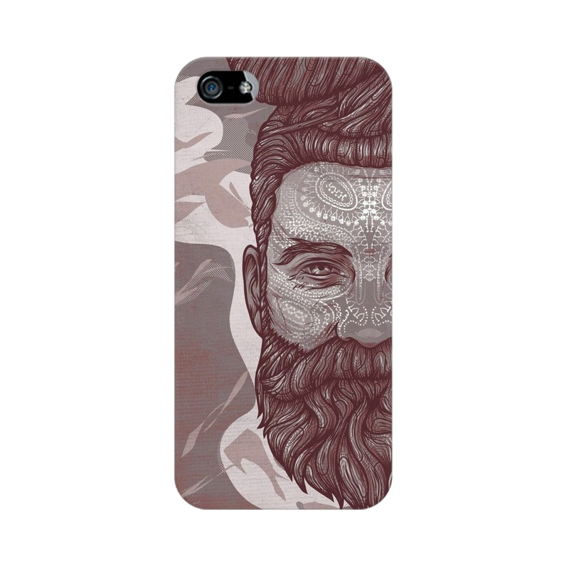 Beardo Man Apple iPhone 5 Mobile Cover Case