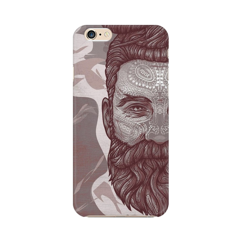 Beardo Man Apple iPhone 6 Plus Mobile Cover Case