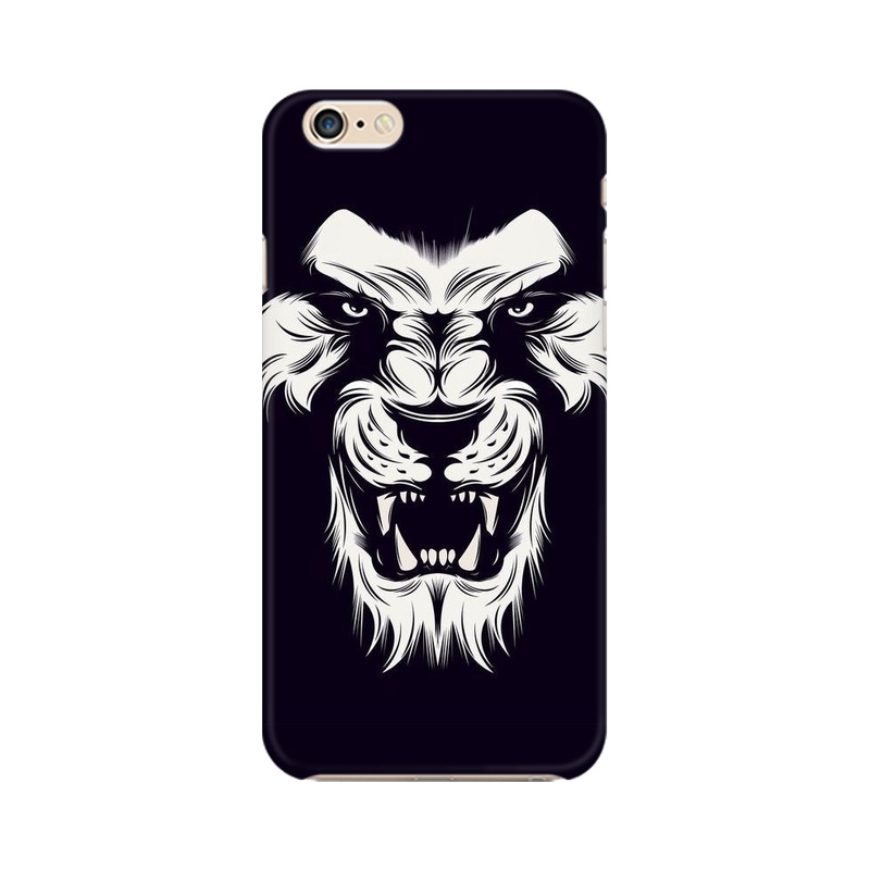 Angry Wolf Apple iPhone 6 Plus Mobile Cover Case