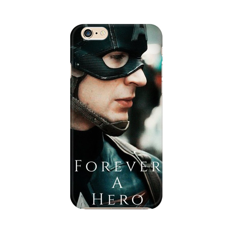 A True Hero Captain America Apple iPhone 6 Plus Mobile Cover Case
