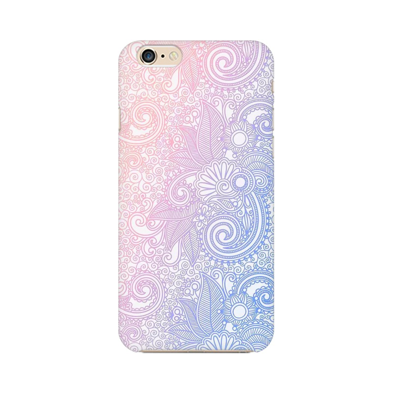 Beautiful rangoli Apple iPhone 6 Plus Mobile Cover Case