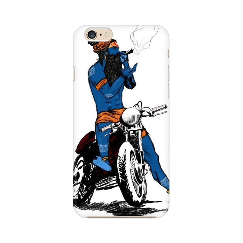 Biker Shiva Apple iPhone 6 Plus Mobile Cover Case