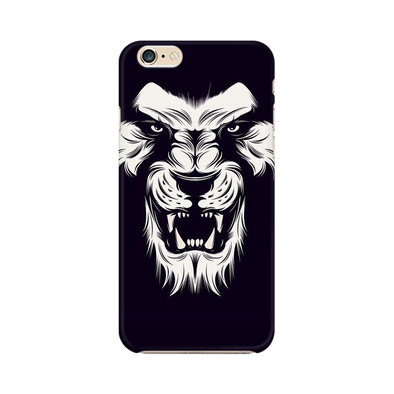 Angry Wolf Apple iPhone 6s Plus Mobile Cover Case