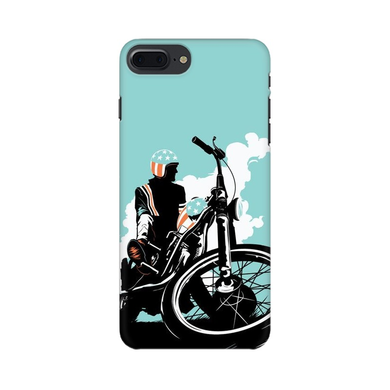 American Biker Apple iPhone 7 Plus Mobile Cover Case