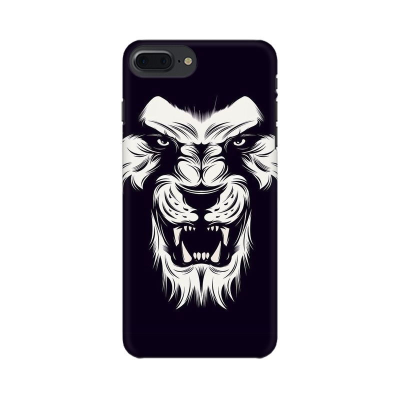 Angry Wolf Apple iPhone 7 Plus Mobile Cover Case