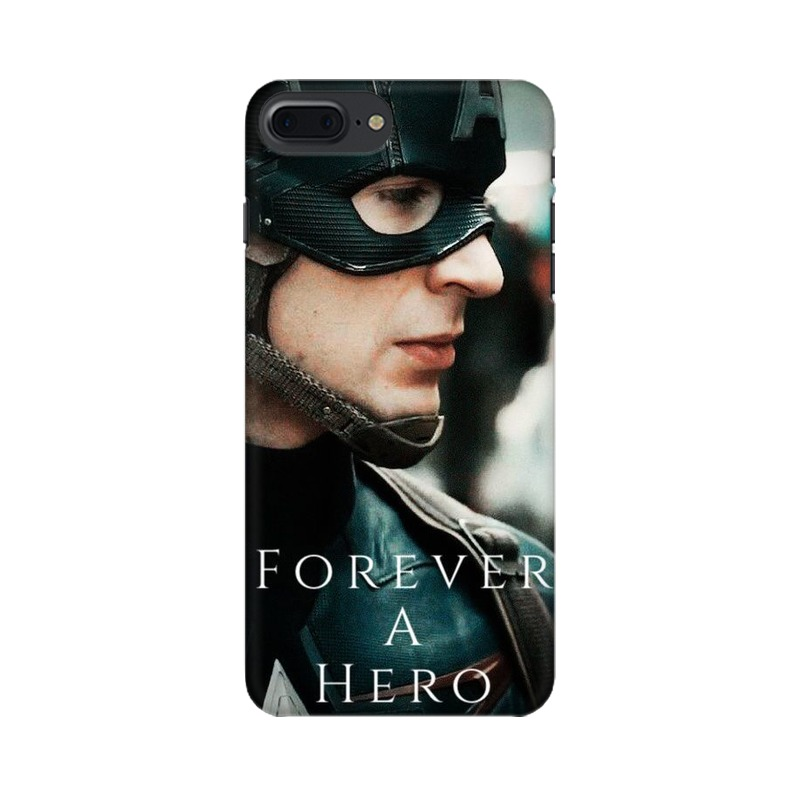 A True Hero Captain America Apple iPhone 7 Plus Mobile Cover Case