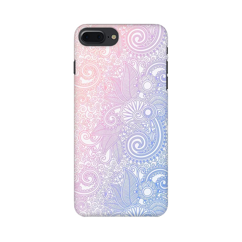 Beautiful rangoli Apple iPhone 7 Plus Mobile Cover Case