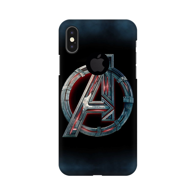Avengers Apple iPhone X with Apple Hole Mobile Cover Case