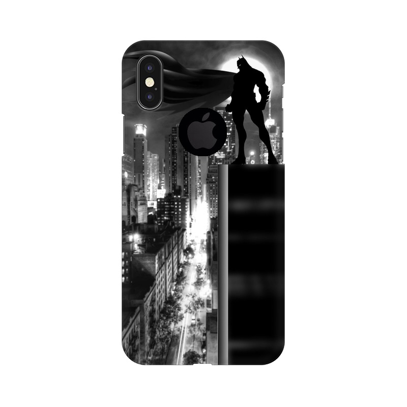 Batman Dark Knight Apple iPhone X with Apple Hole Mobile Cover Case