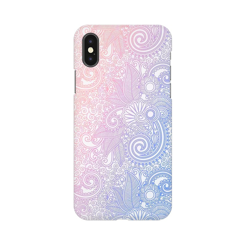 Beautiful rangoli Apple iPhone Xs Mobile Cover Case