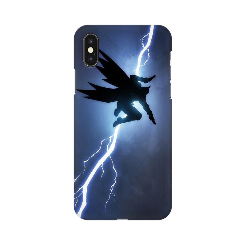 Batman Thunder Apple iPhone Xs Mobile Cover Case