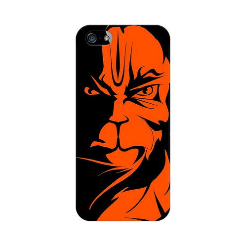 Angry Hanuman Apple iPhone 5 Mobile Cover Case