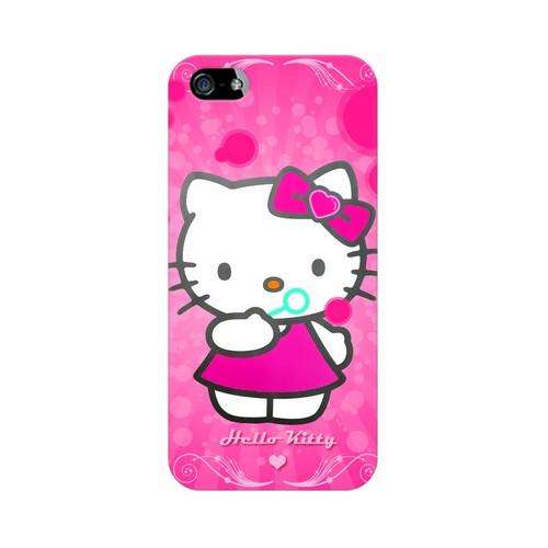 new concept 98009 6093f Hello Kitty Apple iPhone 5 Mobile Cover Case - Jooari