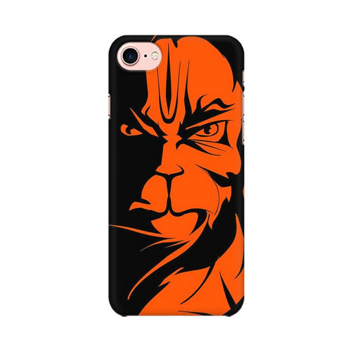 Angry Hanuman Apple iPhone 8 Mobile Cover Case