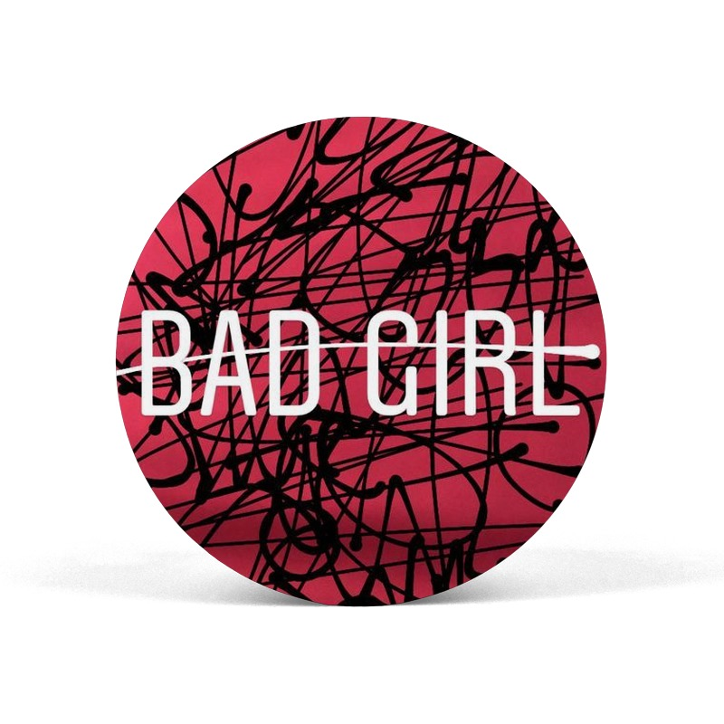 Bad Girl Pop Socket Grip Mobile Holder