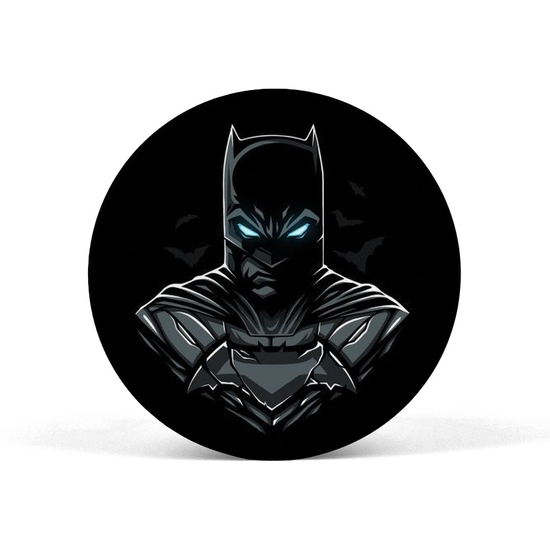 Batman Neon Eyes Pop Socket Grip Mobile Holder