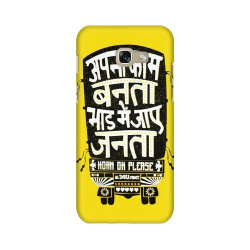 Apna Kaam Banta Bhaad Mai Jaye Janta Samsung Galaxy A7 (2017) Mobile Cover Case