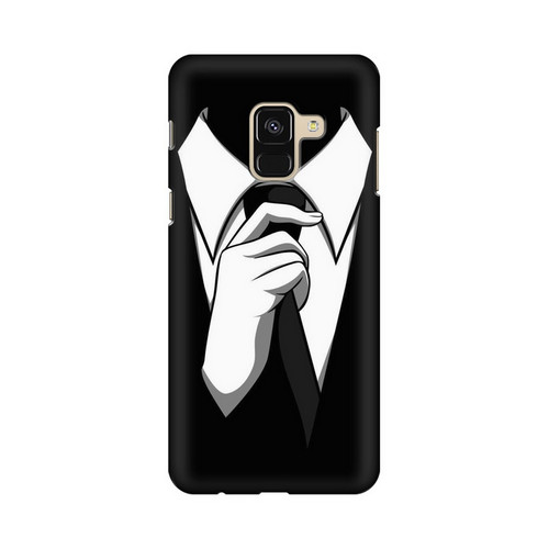 Anonymous Tie Samsung Galaxy A8 Plus Mobile Cover Case