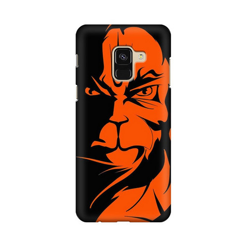 Angry Hanuman Samsung Galaxy A8 Plus Mobile Cover Case
