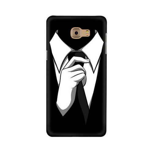 Anonymous Tie Samsung Galaxy C9 Pro Mobile Cover Case