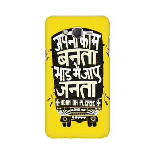 Apna Kaam Banta Bhaad Mai Jaye Janta Samsung Galaxy J7 (2016) Mobile Cover Case