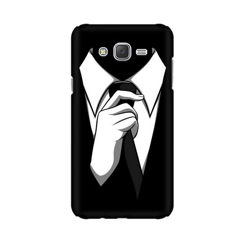 Anonymous Tie Samsung Galaxy J7 Mobile Cover Case