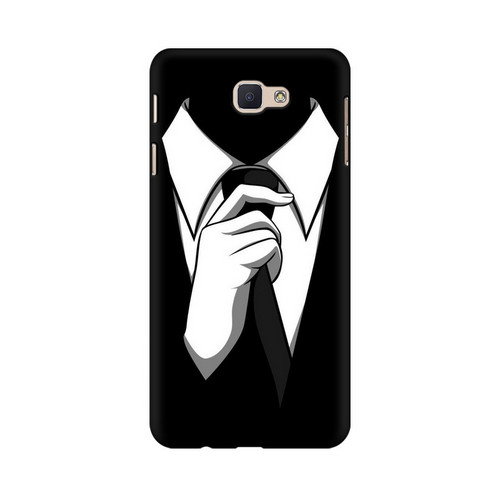 Anonymous Tie Samsung Galaxy J7 Prime Mobile Cover Case