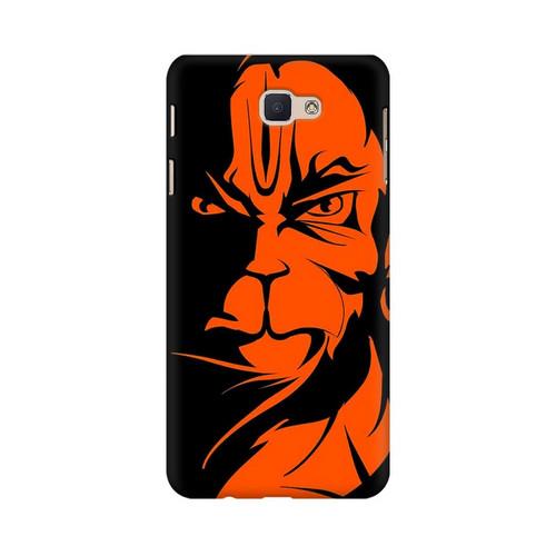 Angry Hanuman Samsung Galaxy J7 Prime Mobile Cover Case