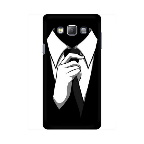 Anonymous Tie Samsung Galaxy On7 Mobile Cover Case