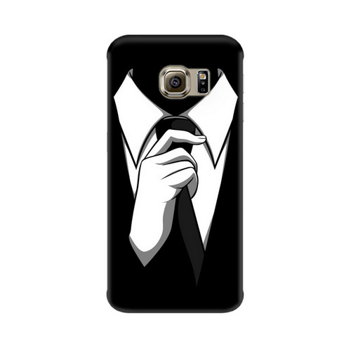 Anonymous Tie Samsung Galaxy S7 Edge Mobile Cover Case