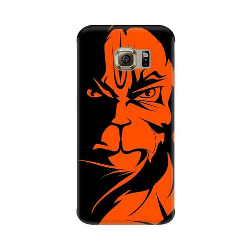 Angry Hanuman Samsung Galaxy S7 Edge Mobile Cover Case