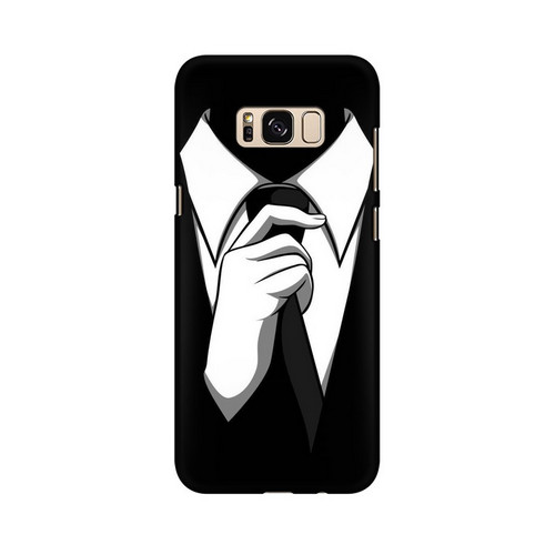 Anonymous Tie Samsung Galaxy S8 Mobile Cover Case