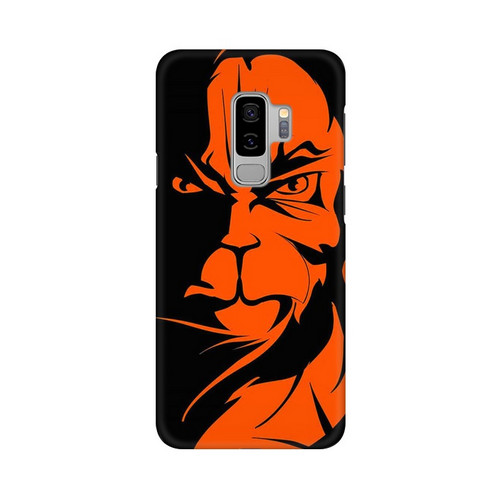 Angry Hanuman Samsung Galaxy S9 Plus Mobile Cover Case