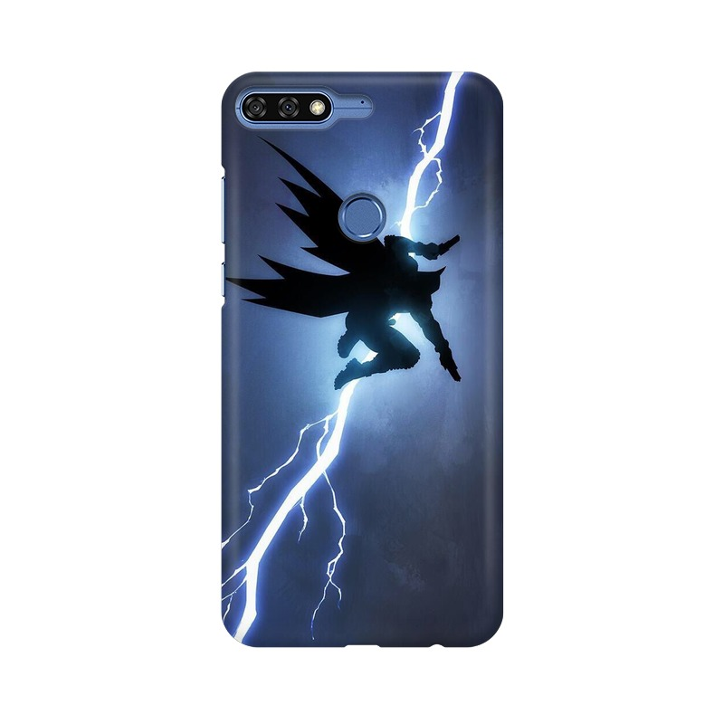 Batman Thunder Huawei Honor 7C Mobile Cover Case
