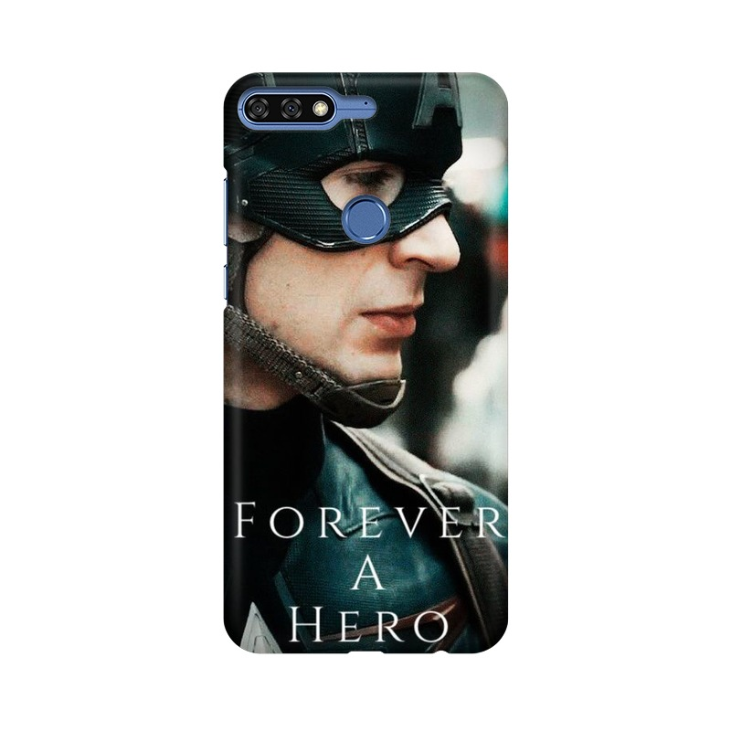 A True Hero Captain America Huawei Honor 7C Mobile Cover Case